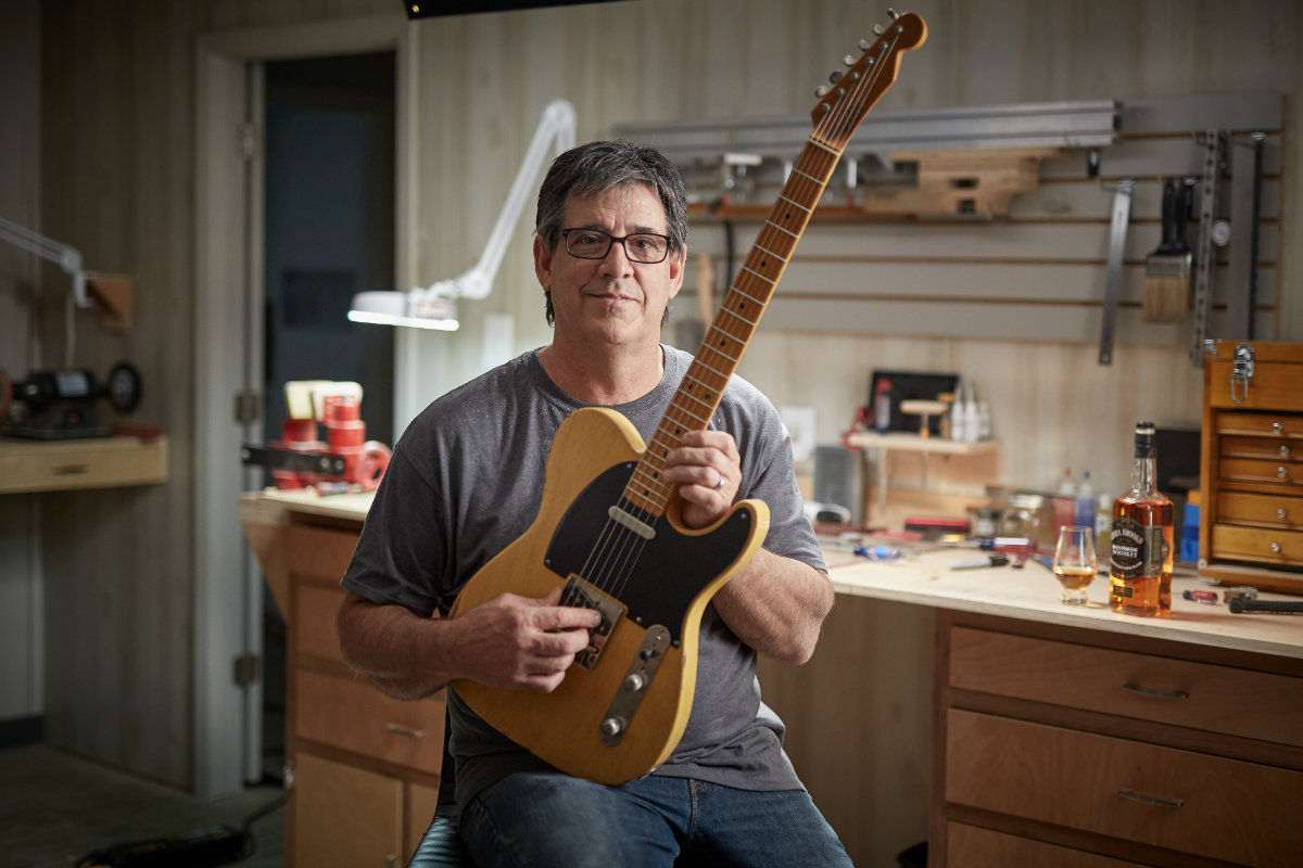 Charles Whitfill of Whitfill Custom Guitars in Kentucky