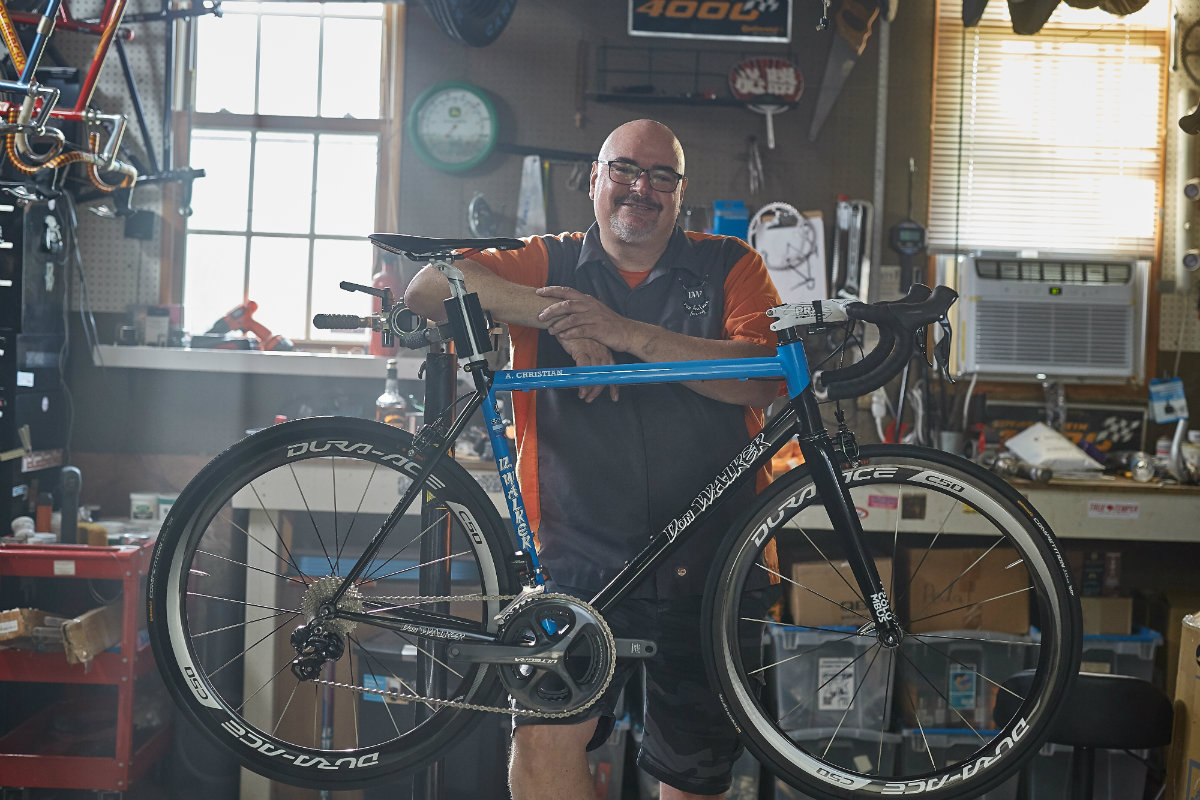 Don Walker of Don Walker Cycles in Kentucky