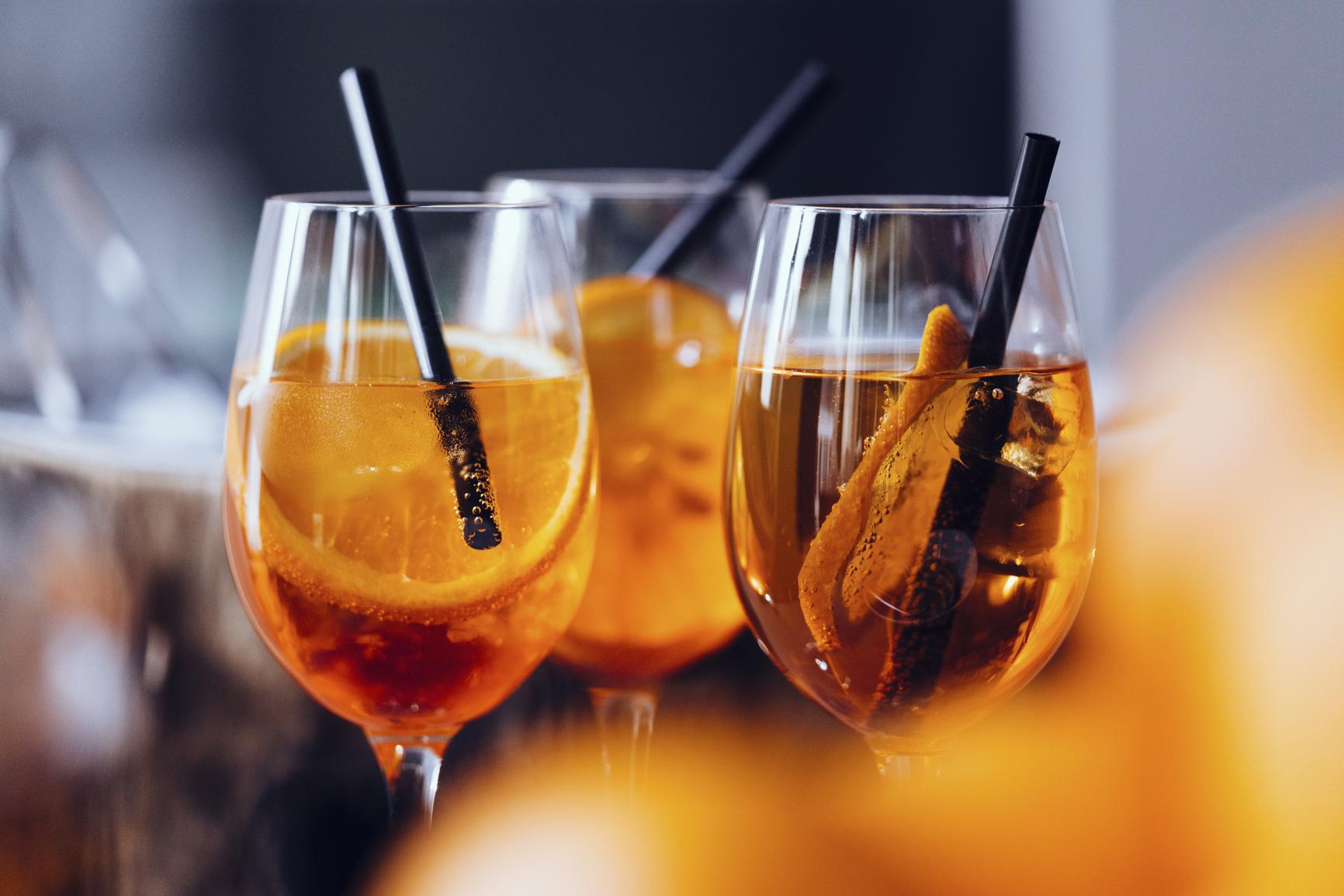 Whiskey aperitif
